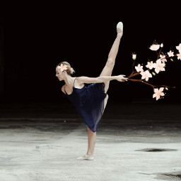 freetoedit flowers dancer