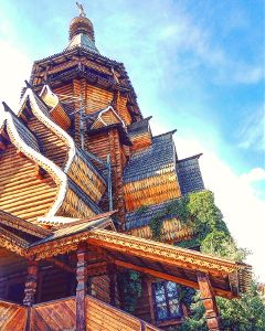 architecture moscow travel wood lookup