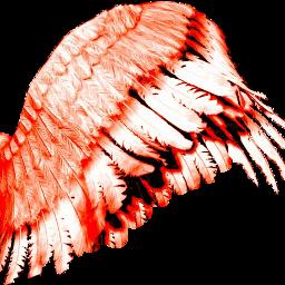 wings disfraz pngedit