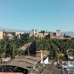 spain granada alhambra palace islamic andalucia